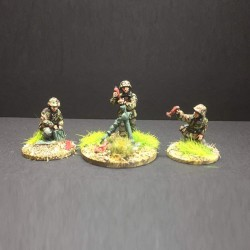 Waffen SS Panzergrenadier 8cm Mortar and crew