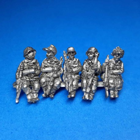 German Seated Infantry for Vehicles