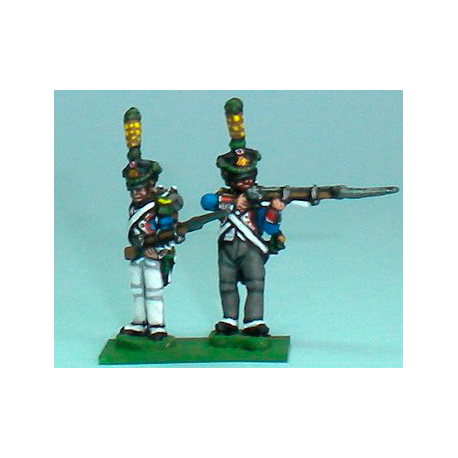 Grenadiers / Voltigeurs shooting and reloading