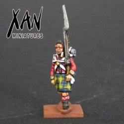 Highlanders with the head bandaged
