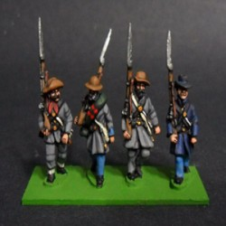 Infantry, with levite and hat